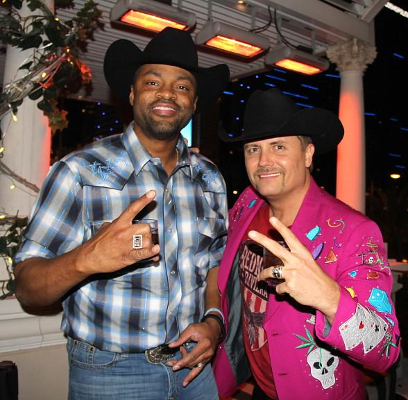 Cowboy Troy and John Rich of Big & Rich at Chateau
