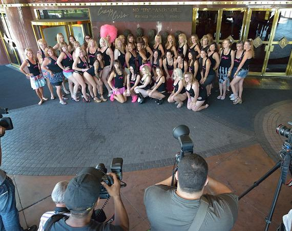 Crazy Girls with photographers