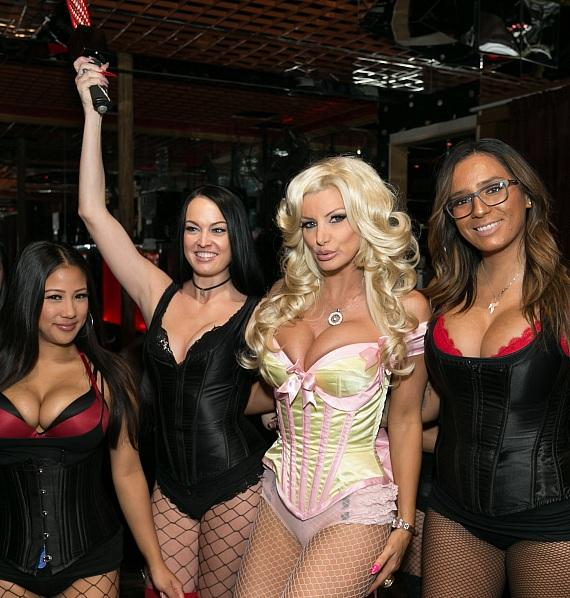 Crazy Horse III_Brittany Andrews with Bottle Presentation