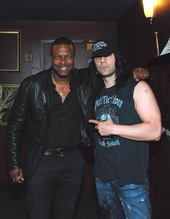 Chris Tucker and Criss Angel