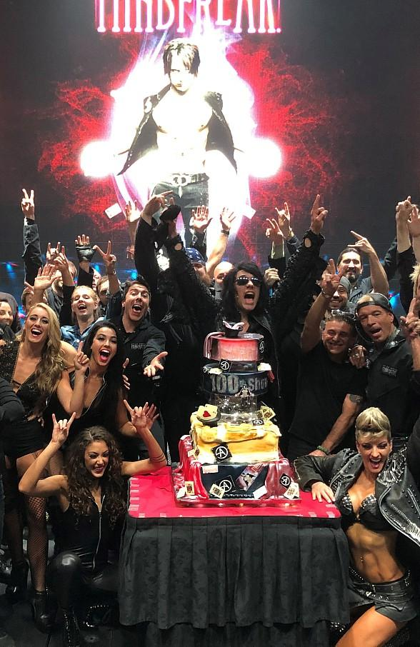 Criss Angel Mindfreak Celebrates 100 Shows at Planet Hollywood Resort & Casino in Las Vegas