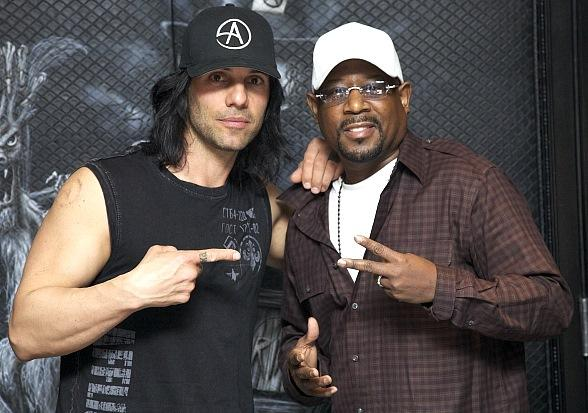 A Night of Magic for Martin Lawrence and Family at CRISS ANGEL Believe
