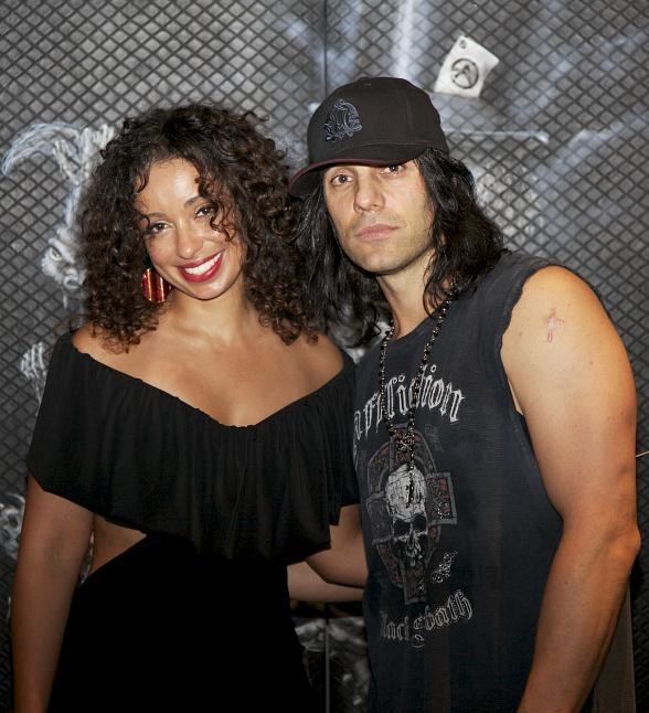 Singer/Songwriter Mya Enjoys a Night Out at CRISS ANGEL Believe by Cirque du Soleil