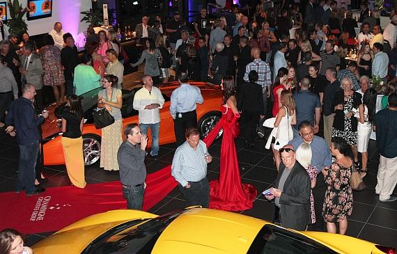 Celebrity Cars Las Vegas grand opening