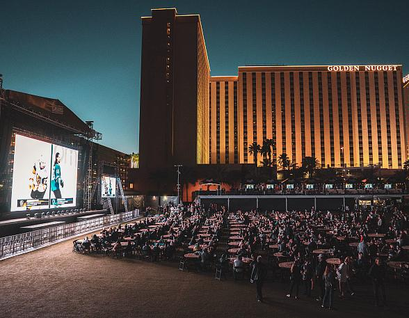 Downtown Las Vegas Events Center Welcomes 1,400 Hockey Fans at Official Vegas Golden Knights Playoff Watch Party