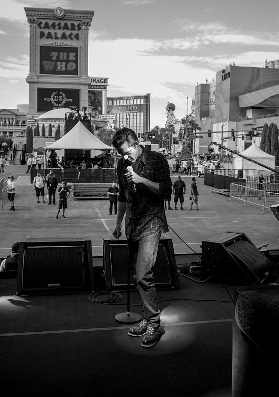 """The Killers Rock the Las Vegas Strip with Pop-Up Performance at Caesars Palace During ABC's """"Jimmy Kimmel Live"""""""