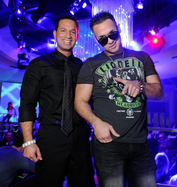 """Marc """"The Man"""" and Mike """"The Situation"""" Sorrentino"""