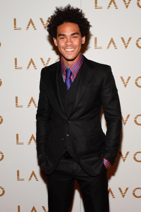 DJ Ace (Trey Smith) arrives at LAVO