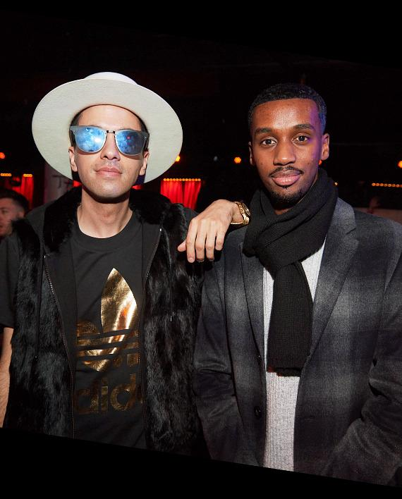 DJ Cassidy and Future The Prince at TAO Park City
