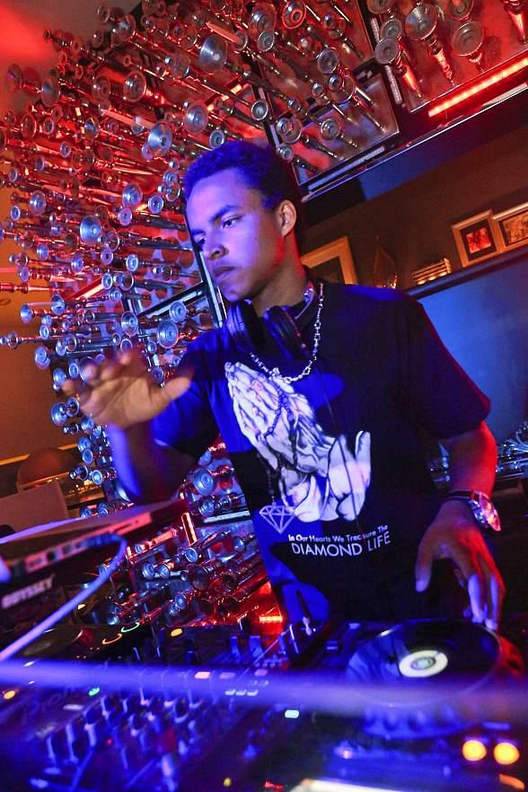 DJ Connor Cruise spins at Hyde Bellagio, Las Vegas