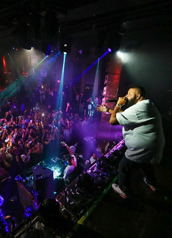DJ Khaled hosts official TopSpin after party at TAO