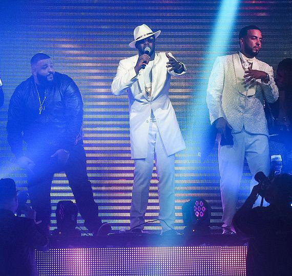 DJ Khaled, Diddy and French Montana at TAO