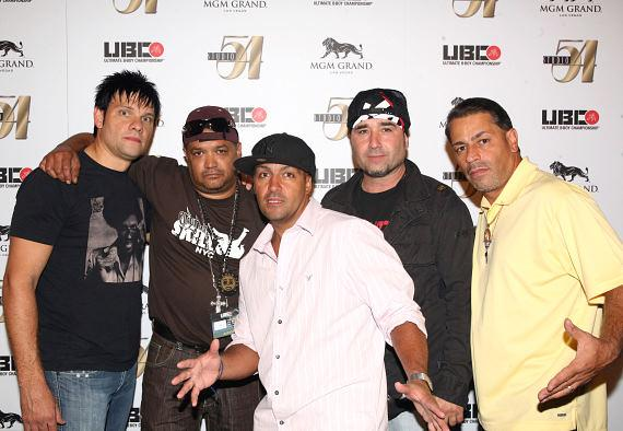 DJ P, Jo JO, Ken Swift, Mr. Freeze and Trac 2 on the red carpet