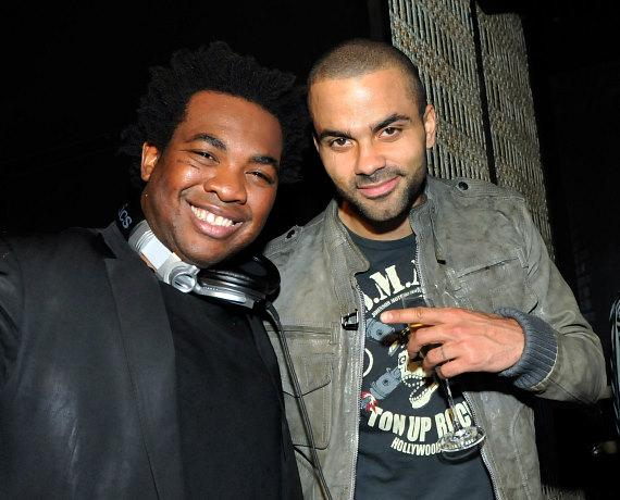 DJ Reach and Tony Parker at LAVO
