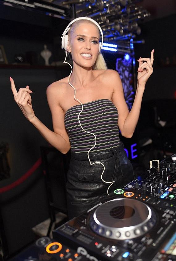 DJ Saint Clair takes over the DJ booth at Hyde Bellagio in Las Vegas