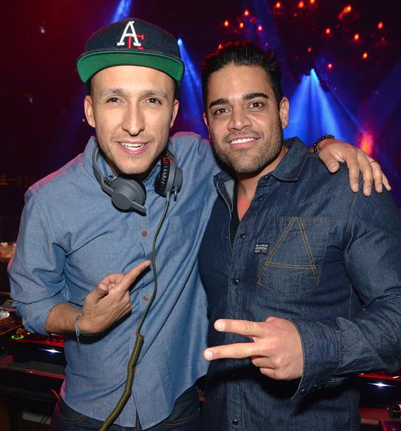 DJ Vice and Mike Shouhed at TAO