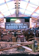 Downtown Las Vegas Events Center Saddles up for Wrangler National Finals Rodeo Week Dec. 7-16