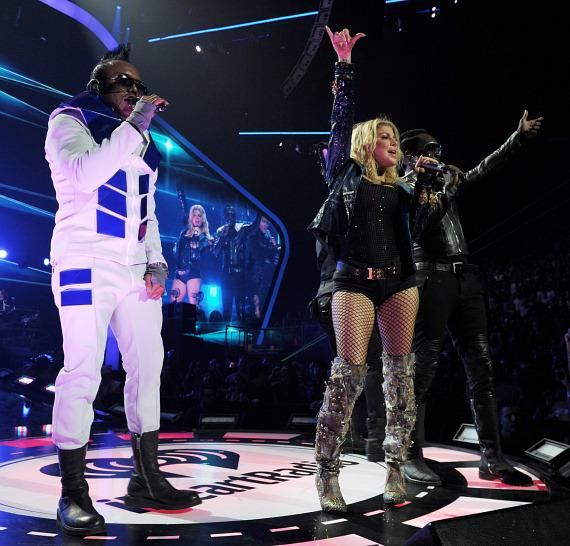 Black Eyed Peas performs at iHeartRadio Music Festival in Las Vegas