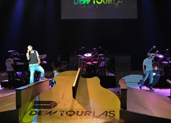 N.E.R.D. performs at the Dew Tour Championships at The Joint