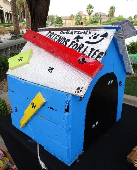 Donation box for 'Friends For Life Humane Society