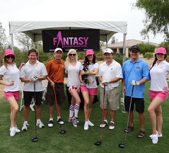 Ladies of FANTASY with golfers at Siena Golf Club