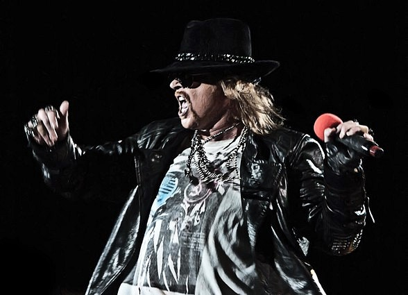 Guns N' Roses No Trickery! An Evening Of Destruction at The Joint May 21 - June 7, 2014
