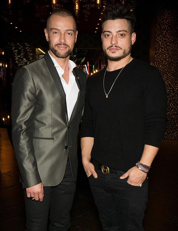"""Joey Lawrence and brother Andrew who plays """"Eric Russo"""" in the hit CBS series """"Hawaii Five-O."""""""