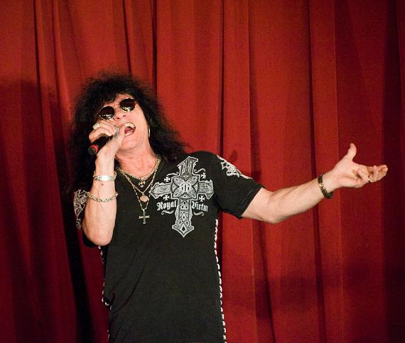 """Paul Shortino, famous as the lead singer of Quiet Riot, closes the show with a stunning performance of the Etta James song """"At Last"""""""