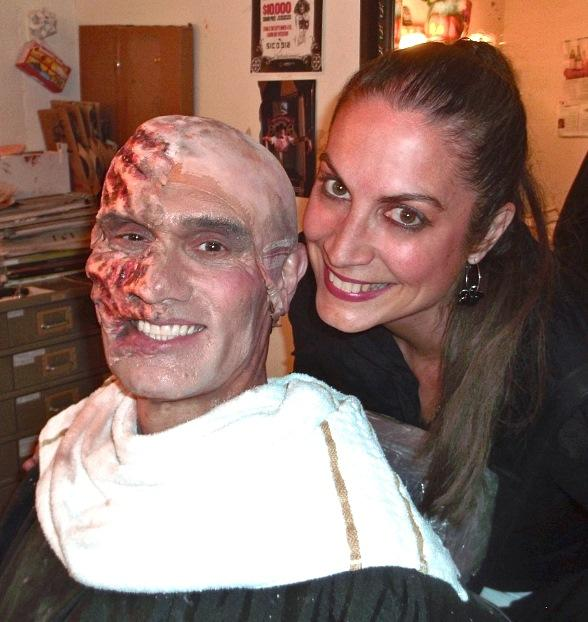 "Musical Theater Star Renée Knapp Visits Vegas Production of ""The Phantom of The Opera"""