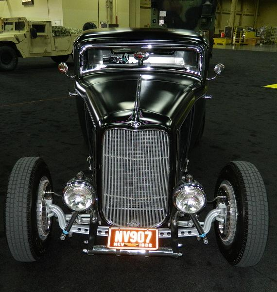 """Blackie"", a 1932 Ford 3-Window Coupe at Barrett-Jackson"