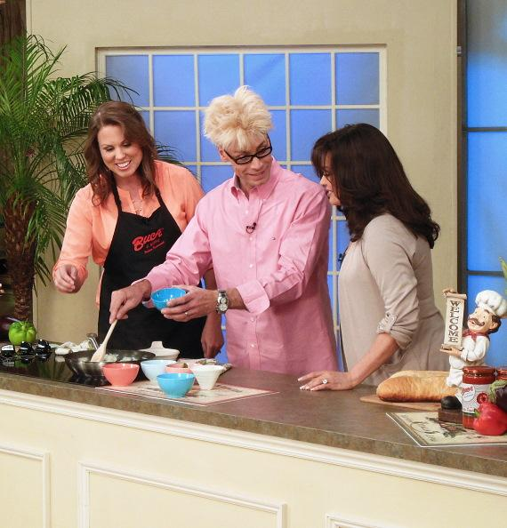 Chef Emily Bishop, Murray SawChuck and Marie Osmond
