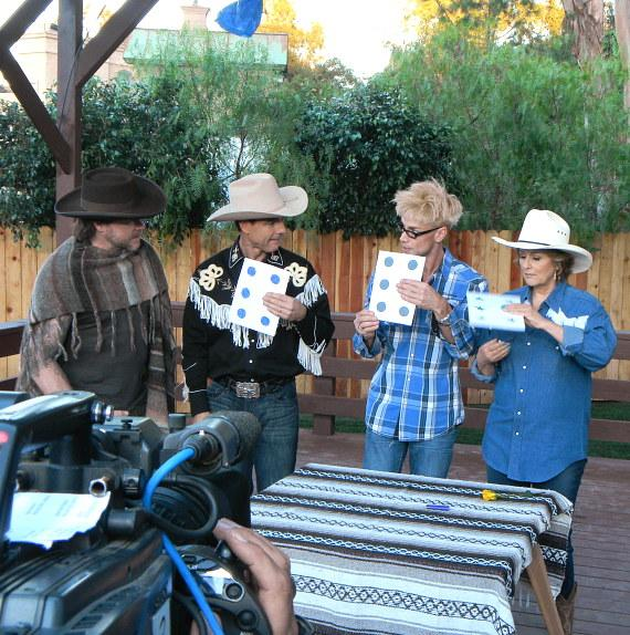 Murray SawChuck teaches a trick during his second appearance on Hallmark's 'Home & Family'
