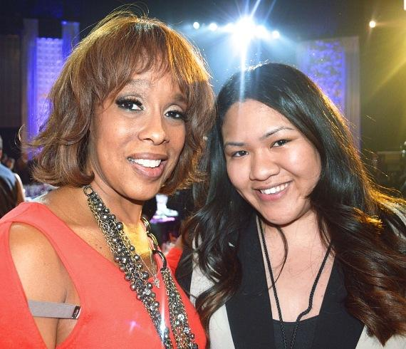 Gayle King and Jessica Limprasert