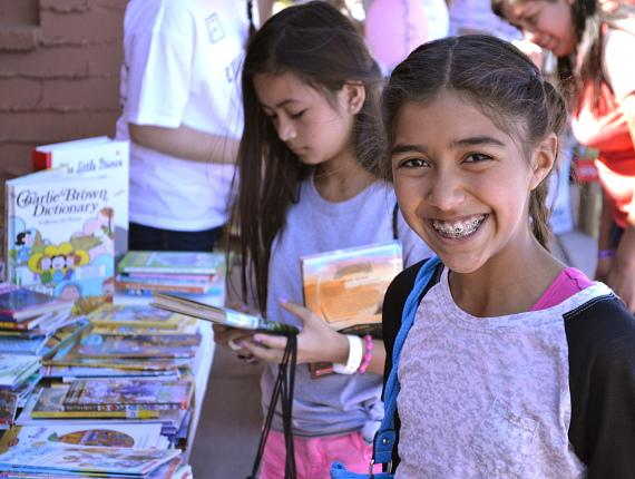 """Flip Through Summer"" at Lorenzi Park encourages children to continue reading during the summer months"