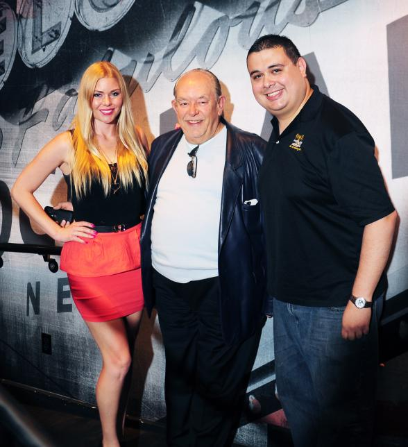 Robin Leach goes 'On Air with Robert & CC' at PBR Rock Bar in Las Vegas