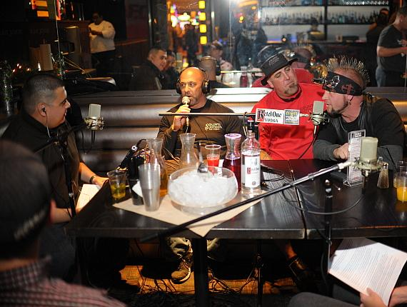 Robert Blasi with Kevin, Scott and Horny Mike of Counting Cars