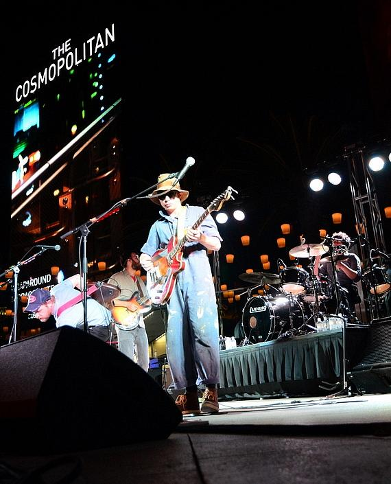 Dr. Dog performs at the Boulevard Pool at The Cosmopolitan of Las Vegas