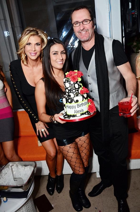 Alexis Bellino Celebrates Birthday at Andrea's in Encore at Wynn Las Vegas