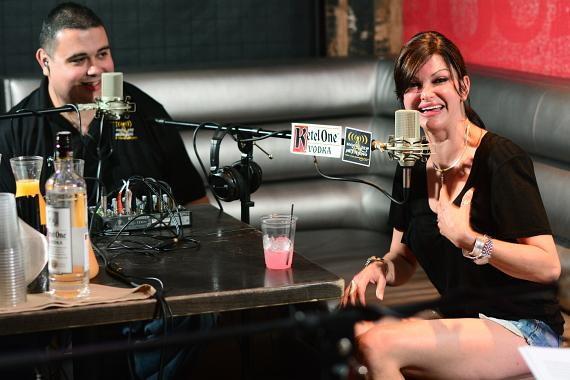 Chef Carla Pellegrino goes 'On Air with Robert & CC' at PBR Rock Bar in Las Vegas