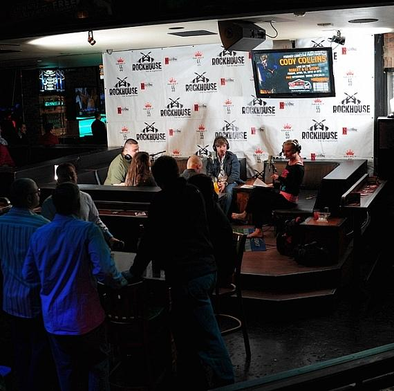 Country Superstars host Cody Collins goes 'On Air with Robert & CC' at Rockhouse