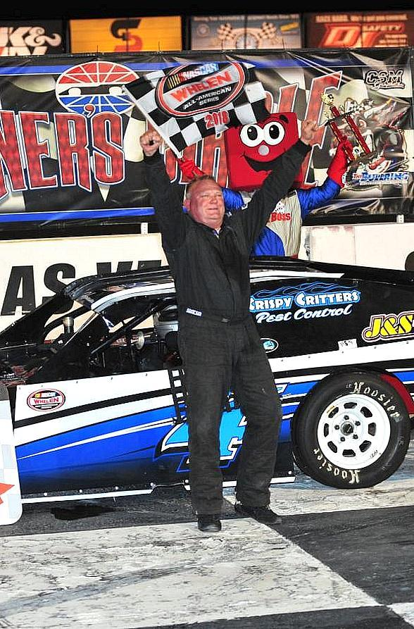 Hamm Earns 50th Career Win at The Bullring at Las Vegas Motor Speedway