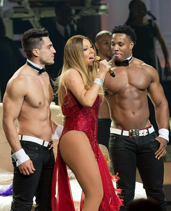 Jon Howes, Mariah Carey and Cameron Brown