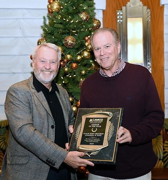CAMCO Honors Leach Kern Gruchow Anderson & Song as Vendor of the Year