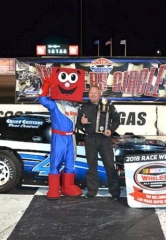 Hamm Sets Track Record, Earns 48th Career Victory at the Bullring at Las Vegas Motor Speedway