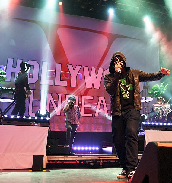 Hollywood Undead Performs at Palms Casino Resort