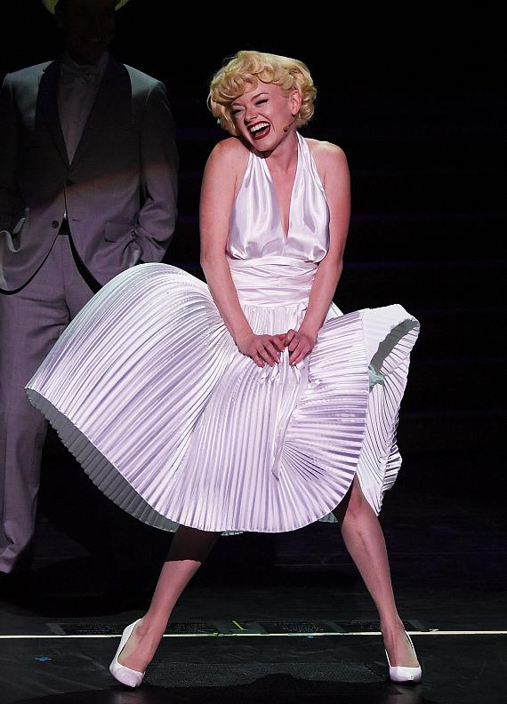 Marilyn! The New Musical celebrated its grand opening at Paris Las Vegas