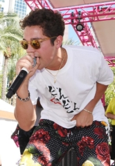 Austin Mahone Performs at Flamingo Las Vegas' GO Pool Dayclub; Brooke Evers Performs Live DJ Set Next Door at Influence, the Pool at The LINQ