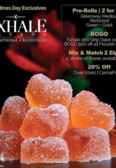 When It Comes to Love There Are No Rules… This Valentine's Day Fall in Love with Exhale Nevada Quality Gifts