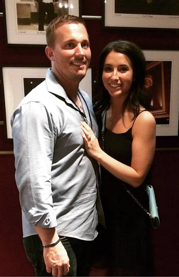 Dakota Meyer Proposes to Bristol Palin during Rascal Flatts Vegas Riot! Show at The Joint inside Hard Rock Hotel