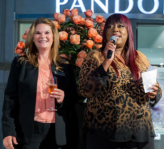 Dana Beatty Director of Floral and Horticulture at The Venetian and Loni Love debut The Venetian Rose